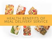 Health Benefits Of Meal Delivery Service