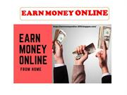EARN MONEY ONLINE - How To Earn Money From Google Without Investment