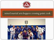 Mixed martial arts hoppers crossing point cook