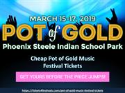 Pot of Gold Music Festival Tickets from Tickets4Festivals