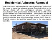 Residential Asbestos Removal Guide
