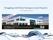 Struggling with Water Damage at your Property