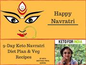 9-Day Keto Navratri Diet Plan & Veg Recipes