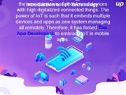 How IoT App Development Can be A Game-Changer for Businesses?