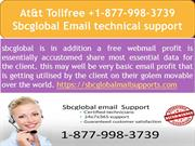 At&t Tollfree +1-877-998-3739 Sbcglobal Email technical support