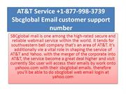 AT&T Service +1-877-998-3739 Sbcglobal Email customer support number