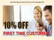 Best Bed Bug Control Services In Washington Dc
