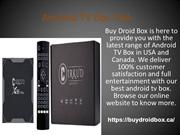 Android TV Box USA