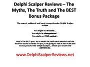 Delphi Scalper Review - Killer Bonus
