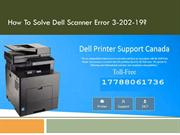 How to solve Dell scanner error 3-202-19