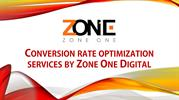 Conversion Rate Optimization Services by Zone One Digital