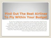 Find Out The Best Airlines To Fly Within Your Budget