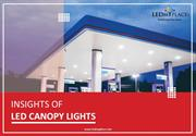 Led Canopy Light Fixtures - Gas Station – USA