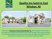 Quality Inn Hotel in East Windsor NJ