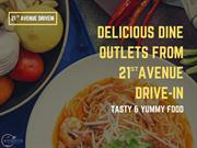 BEST FOOD COURT IN HYDERABAD - 21ST AVENUE - OPENING SOON