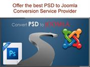 Find to the best PSD to Joomla Conversion Service provider