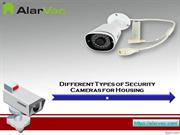 Different Types of Security Cameras for Housing