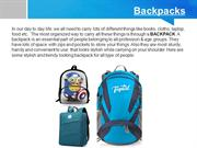 Get Personlized Backpacks at Wholesale Price