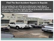 Find The Best Accident Repairs in Bayside