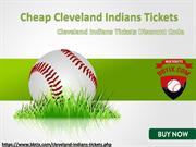 Cheapest Indians Tickets | Cleveland Indians Tickets Discount Coupon