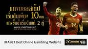 UFABET best online gambling website