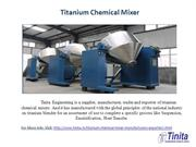 Manufacturer, Trader,Supplier and Exporter of Titanium Products
