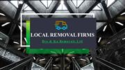 Local Removal Firms