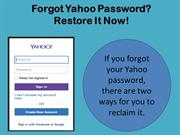 How can I reset my Yahoo Mail Reset your forgotten password