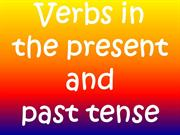 Past Present and Future Verbs