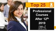 top 25 professional courses after 12th