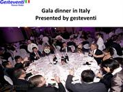 Gala Dinners In Italy The Most Spectacular Venues