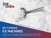 Quality Commercial Ice Machine - Ice & Oven Technologies Pty Ltd
