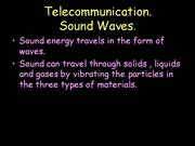 telecommunication-sound