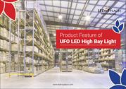 Product Feature of UFO LED High Bay Light