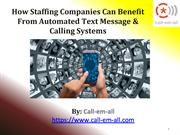 How Companies Can Benefit From Automated Message & Calling Systems