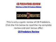 CB Predators Review - Don't Buy It!