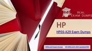 An Incredibly Easy Method to Pass HP HPE6-A29|Realexamdumps.Com