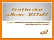 The Secret of Successful Best Live Chat Software