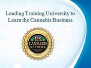 Leading Training University to Learn the Cannabis Business
