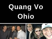 Quang Vo Ohio Entrepreneur - Delivering Results