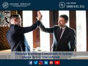 Personal Branding Consultants in Sydney Image Group International