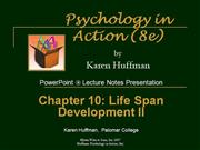 Chapter 10 PowerPoint General Psychology