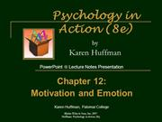 Chapter 12 PowerPoint General Psychology
