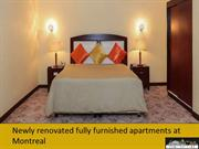 Newly renovated fully furnished apartments at Montreal
