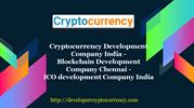 Cryptocurrency Development Company India - Blockchain Development Comp