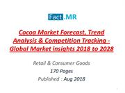 Global Cocoa Market Research Report through 2028