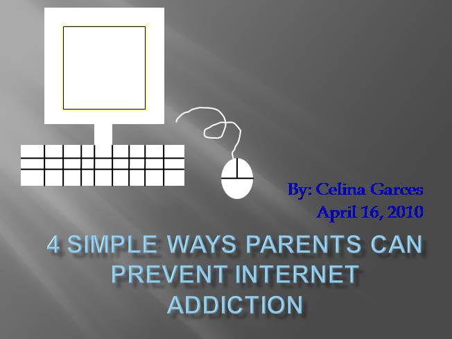 how to prevent internet addiction