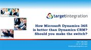 How Microsoft Dynamics 365 is better than Dynamics CRM?