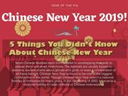 5 Things You Didn't Know About Chinese New Year