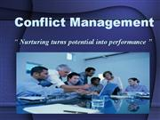 Conflict Mgt..20th mar